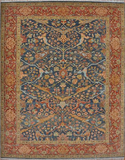 8127 Indian Oushak 7.11x9.10