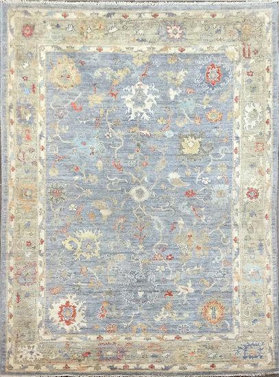 6169 Afghan Oushak 6x8.9