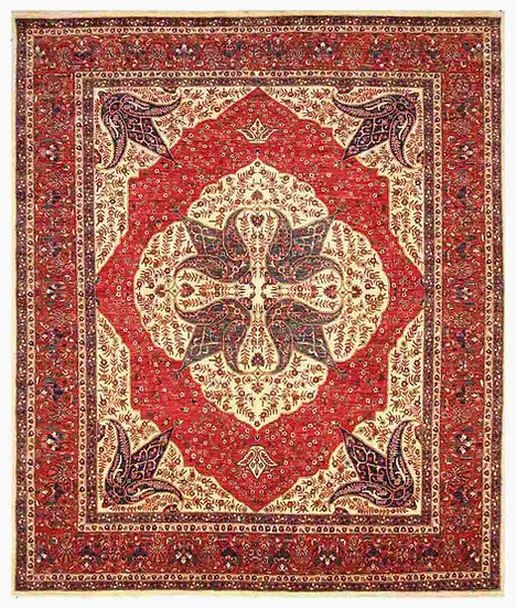 8037 Afghan Farahan 8.4x9.10