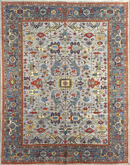9A0404 Afghan Serapi 9.1x11.10