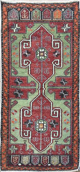2127 Turkish Oushak 1.8x3.7
