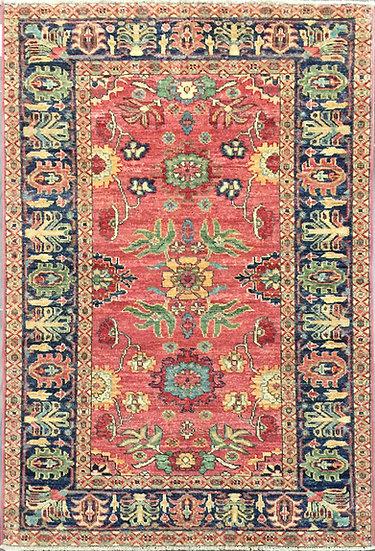 3255 Afghan Heriz 3.2x4.11