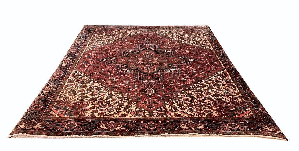 9005 Persian Heriz 9.6x11