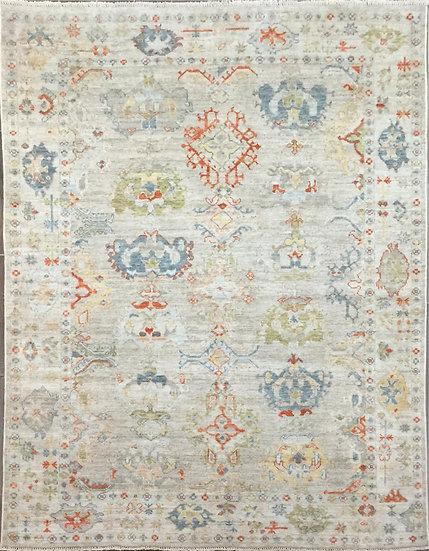 6170 Afghan Oushak 5.10x9