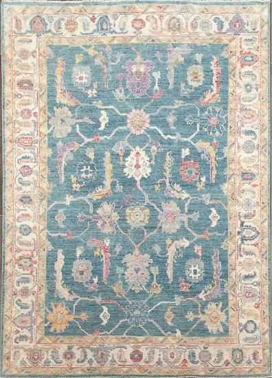 6154 Afghan Oushak 6x9.5