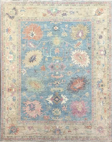 8A385 Afghan Oushak 8x9.5
