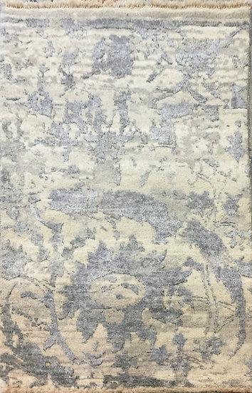 2A0155 Indian Modern Wool&Viscous