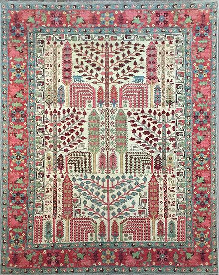 9A0394 Afghan Bakshaish 9x12