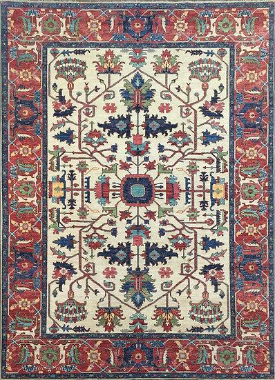 9A0442 Afghan Serapi 9x11.10