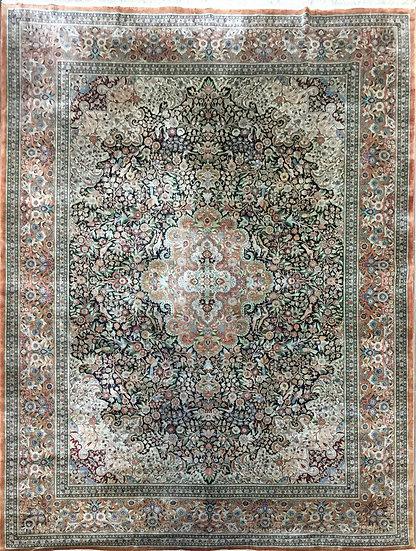 9A0360 Turkistan Silk Rug 8.7x11.7