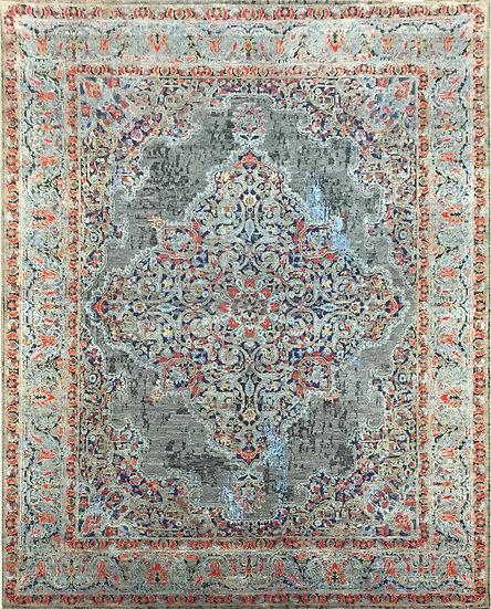 8A348 Indian Modern Agra 8.2x9.10