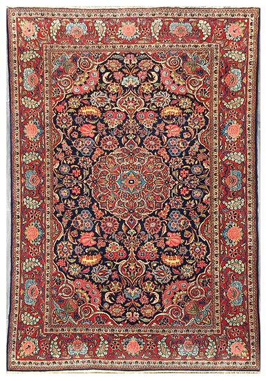 A187 Persian Kashan 4.3x6.7