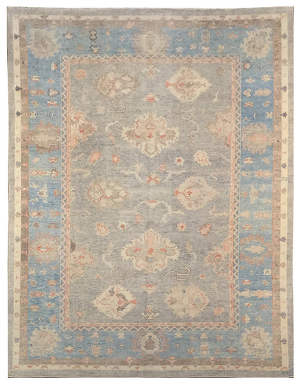9196 Turkish Oushak 8.10x12.5