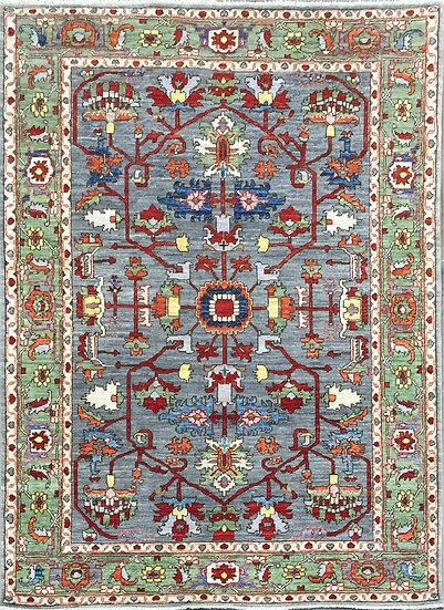 4268 Afghan Serapi 4.3x6.2