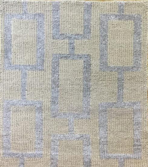 2A0152 Indian Modern Wool&Viscous