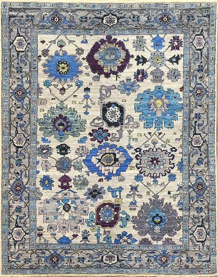 5A0207 Afghan Bijar 4.11x6.9
