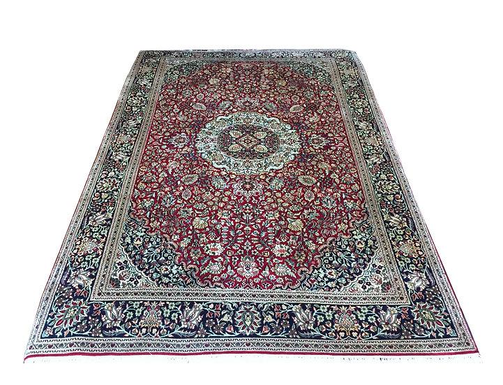 4A0025 Turkistan Qom %100 Silk 4.1x6.3