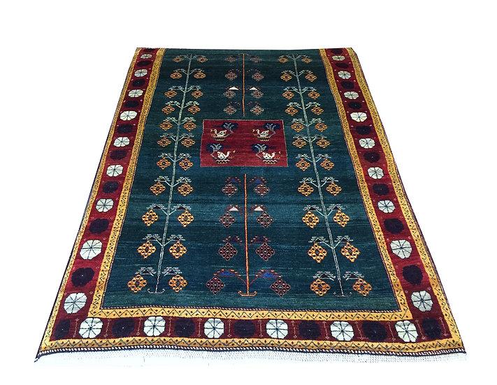 4A0018 Persian Gabbeh 4x6.7