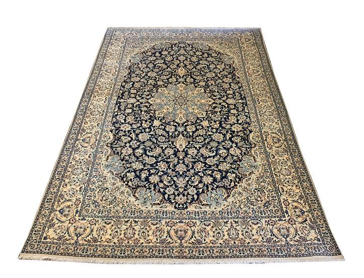 5A0191 Persian Nain 5.3 x 8