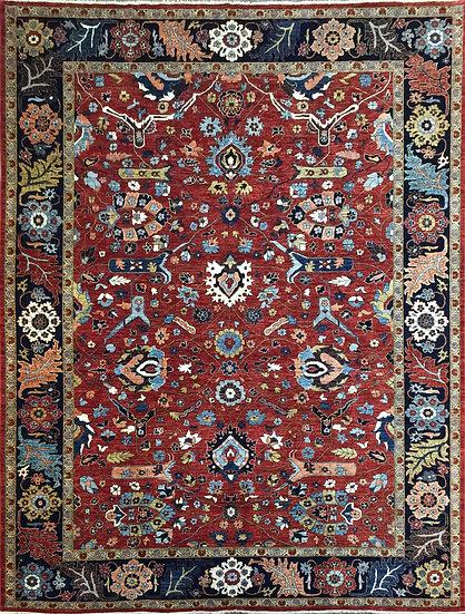 10A0284 Afghan Bijar 10x13.7