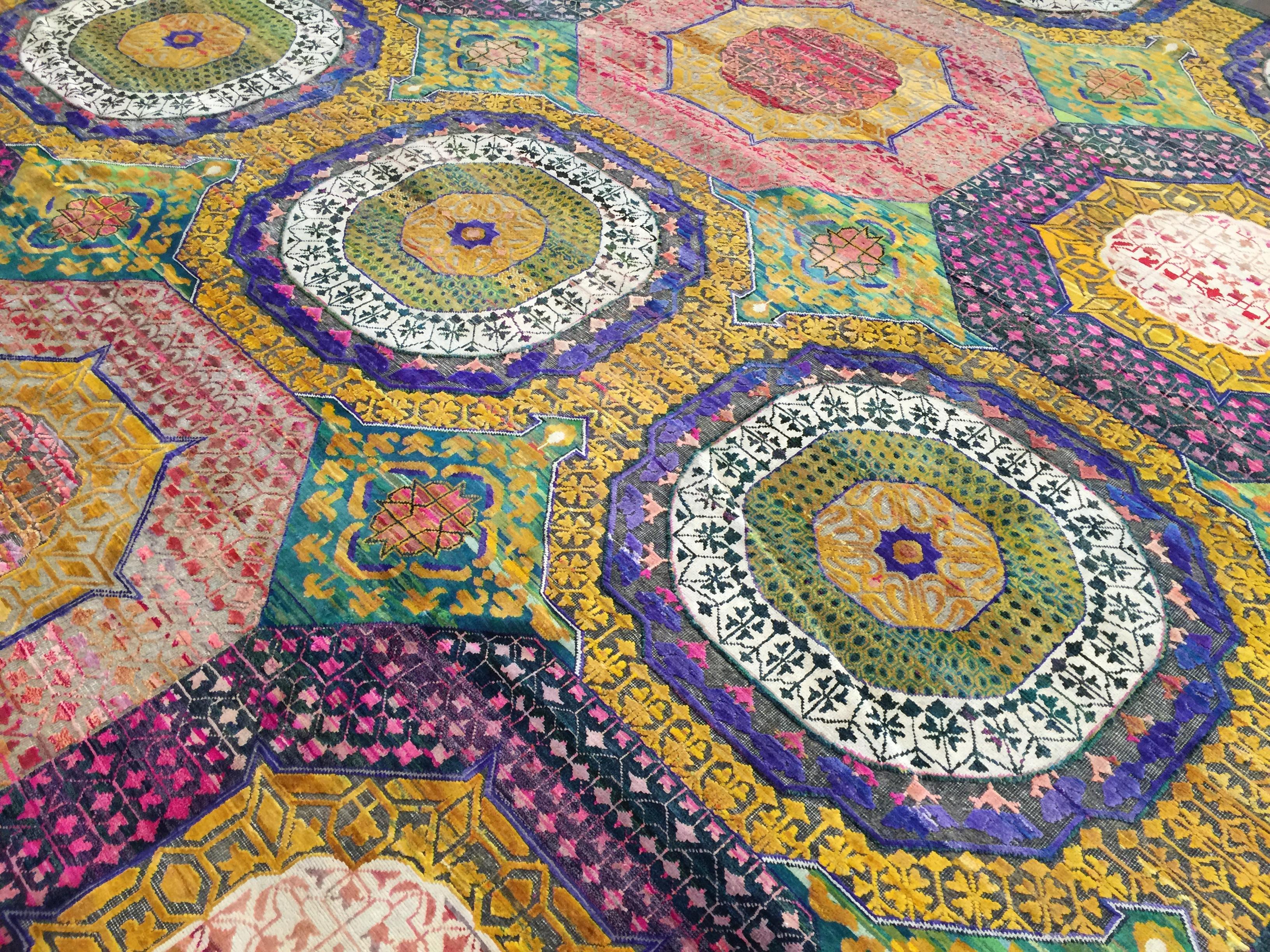 9A0216 Indian Sari Mamluk 9x12   (5)