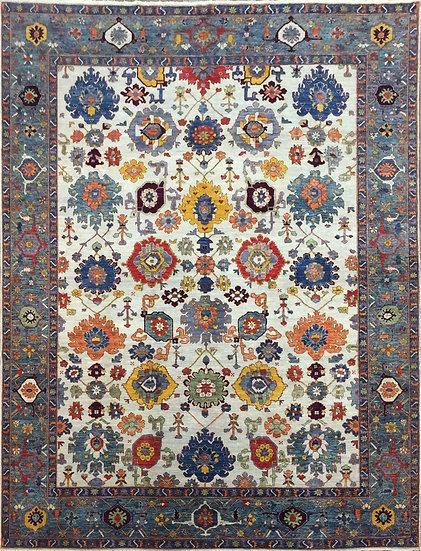 9A0440 Afghan Bijar 8.11x11.10