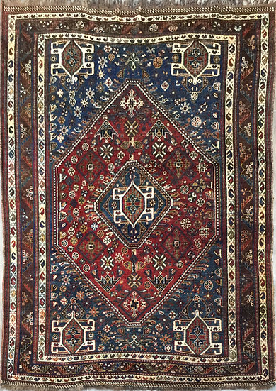 5A0218 Persian Shiraz 4.10x6.11
