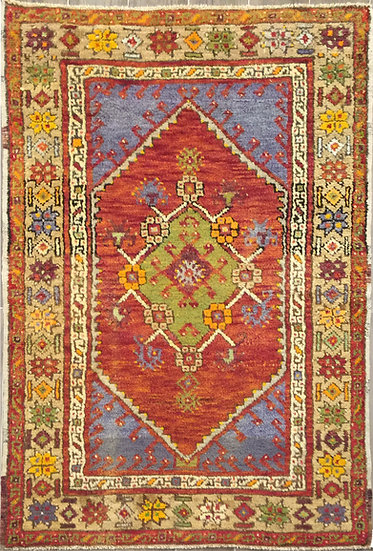 3196 Turkish Oushak 3.2x4.6