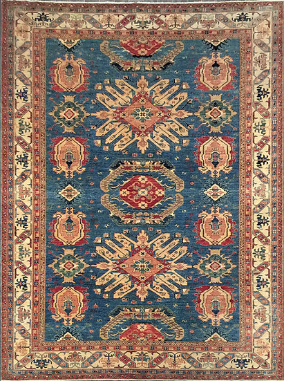 10A0212 Afghan Kazak 9.11x13.5