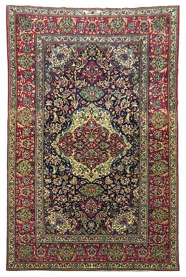 5A0220 Persian Isfahan Ahmadi 4.7x7.1