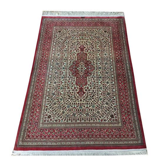 3146 Persian Qom %100 Silk 3.3x4.10