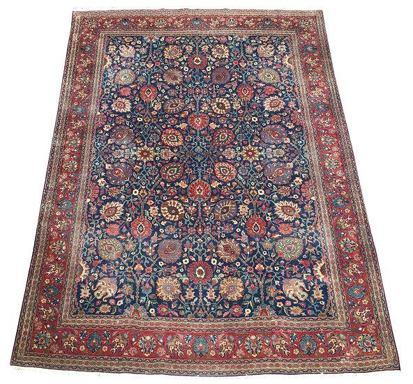 9A0136 Persian Tabriz 9.8x12.3