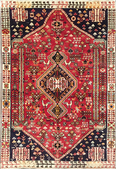 5A0148 Persian Shiraz 4.9x7.9