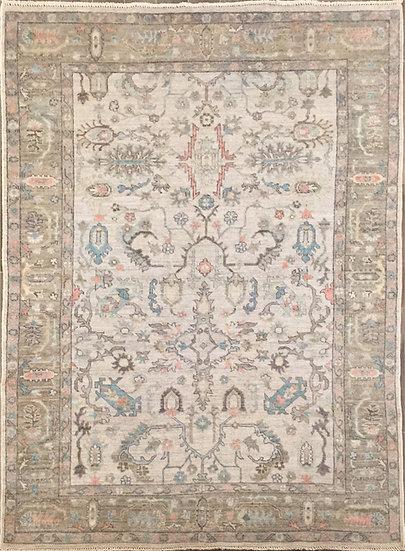 6146 Afghan Oushak 6.4x8.8