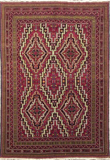 A208 Afghan Baluch 3.8x6.4