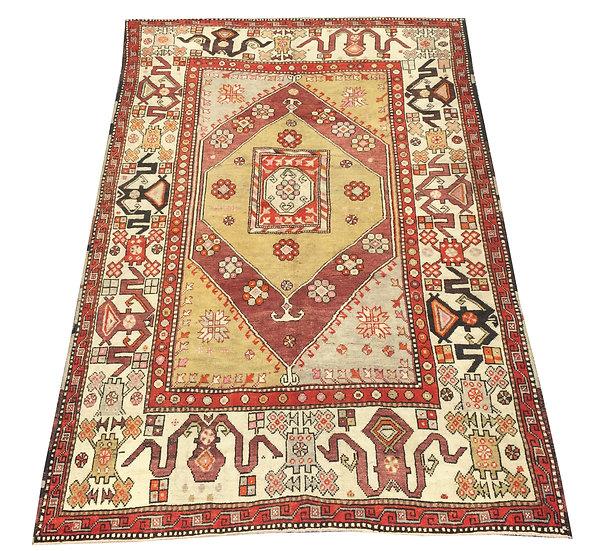 6093 Turkish Oushak 6x9.2