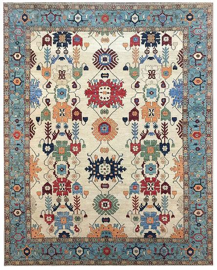 9285 Afghan Bijar 9.5x12