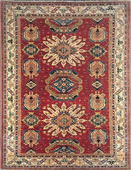 10A0211 Afghan Kazak 9.9x13.9