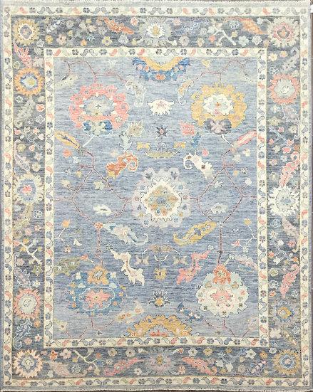 8A372 Afghan Oushak 7.10x10
