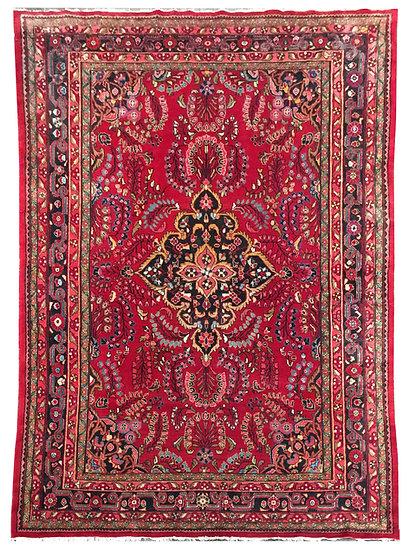 9A0348 Persian Hamadan 9.1x12.6