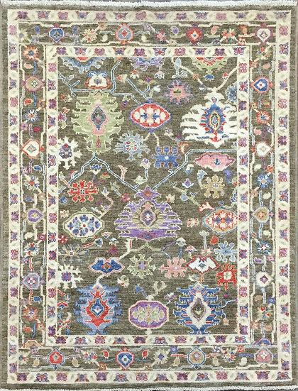 5A0194 Afghan Oushak 5x6.11