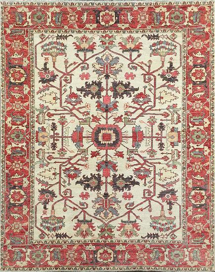 8331 Afghan Serapi 8x9.11