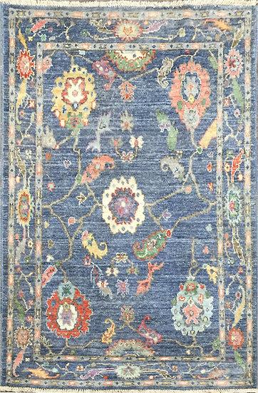 4A0194 Afghan Oushak 3.9x5.7