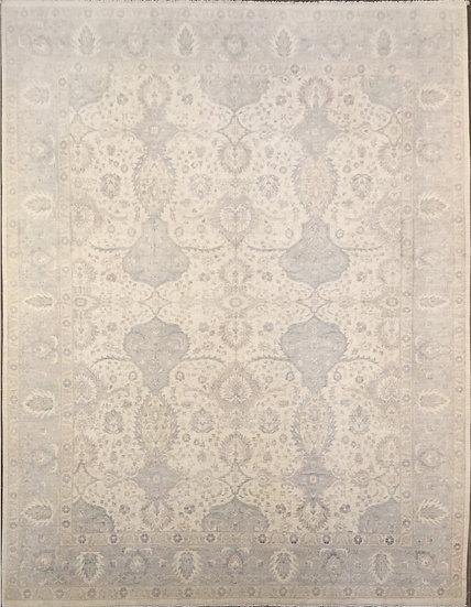 9A0210 Afghan Oushak 9.4x12.5