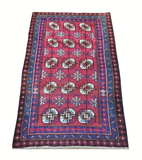 3105 Afghan Bokhara 3x4.10