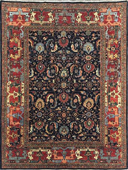 9A0254 Afghan Bijar 8.10x11.7