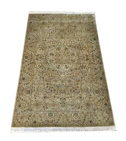 3147 Indian Kashmir %100 Silk 3x5