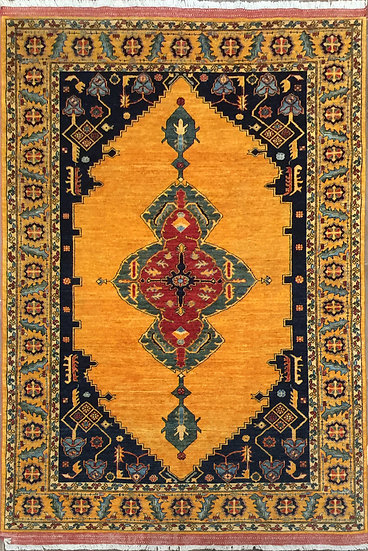 6A0139 Afghan Bijar 6.4x9.4