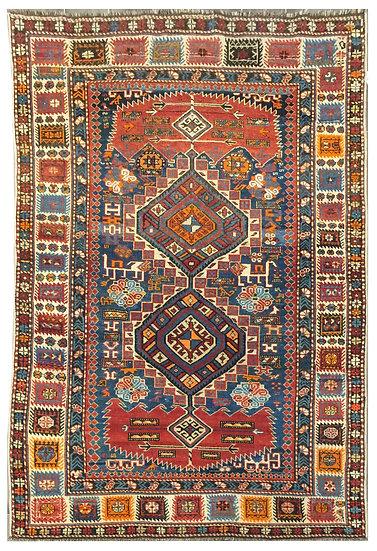 A185 Caucasian Kazak 4.1x5.7