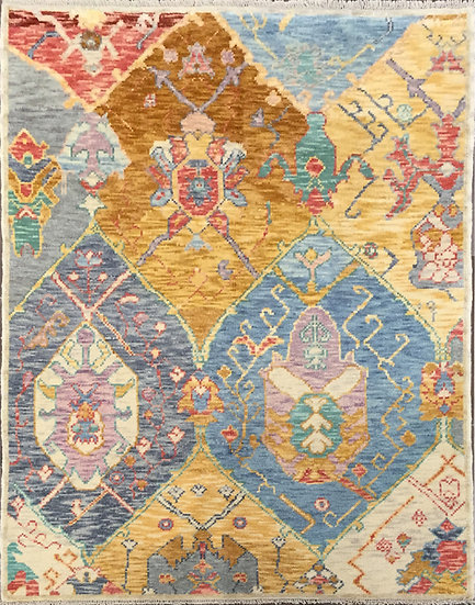 5A0137 Turkish Oushak 5.3x6.10